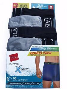 75fd183c236419 Hanes® Men's ULTIMATE X-TEMP AIR 4-Pack BOXER BRIEFS