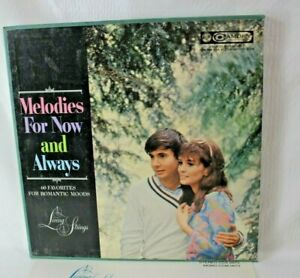 Melodies For Now and Always Living Strings Record Box Set 5LPs Camden VG+ Stereo