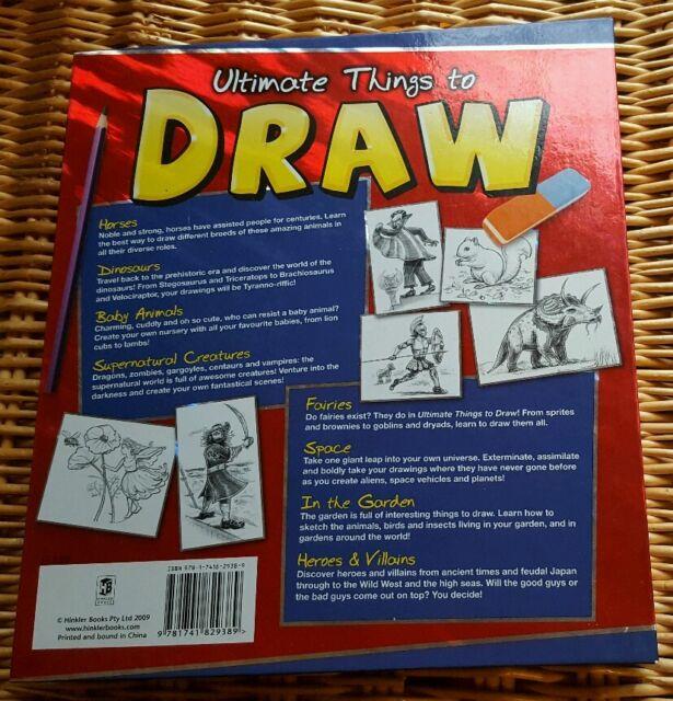 Ultimate Things To Draw By Hinkler Books Hardback 2009 Ebay