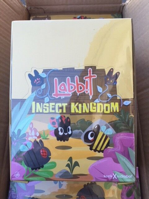 Kidrobot Frank Kozik Insect Kingdom mini Labbit series SEALED CASE