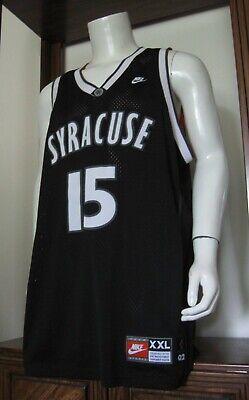 Xxl Men Nike Carmelo Anthony Syracuse Orange Ncaa Basketball Jersey Black Euc Ebay