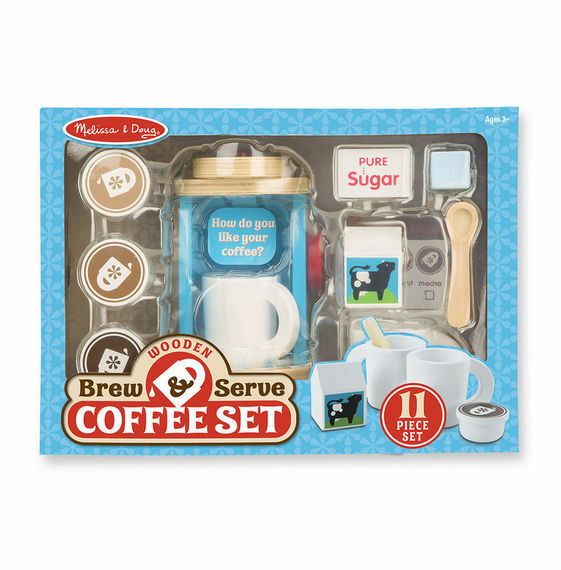 Melissa And Doug Brew & Servir Café Set - 19842-tout Nouveau!
