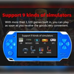 4.3 Inch 8GB Handheld Portable Game Console Built In 1200+Real Video Games