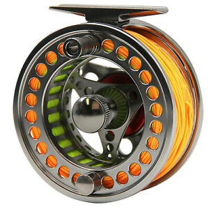 3-4-5-6-7-8-9-10WT-Fly-Reel-Fly-Line-Combo-Fly-Fishing-Reel-With-Line-Combo