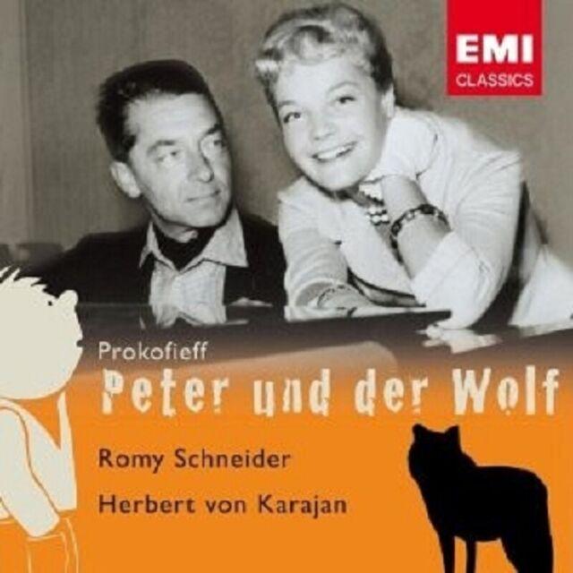 ROMY SCHNEIDER/Karajan/+ - Peter et le loup/lac des cygnes CD KLASSIK NEUF