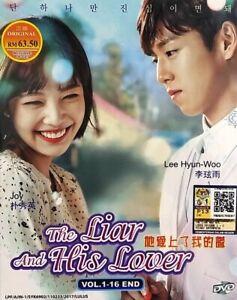 Korean Drama DVD The Liar And His Lover (2017) English Subtitle