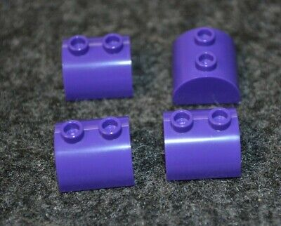 Lego 50 New Dark Purple Plates 2 x 2 Dot Pieces Parts