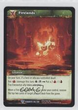 2010 World of Warcraft TCG: War the Elements Booster Pack Base 219 Firelands 0e3