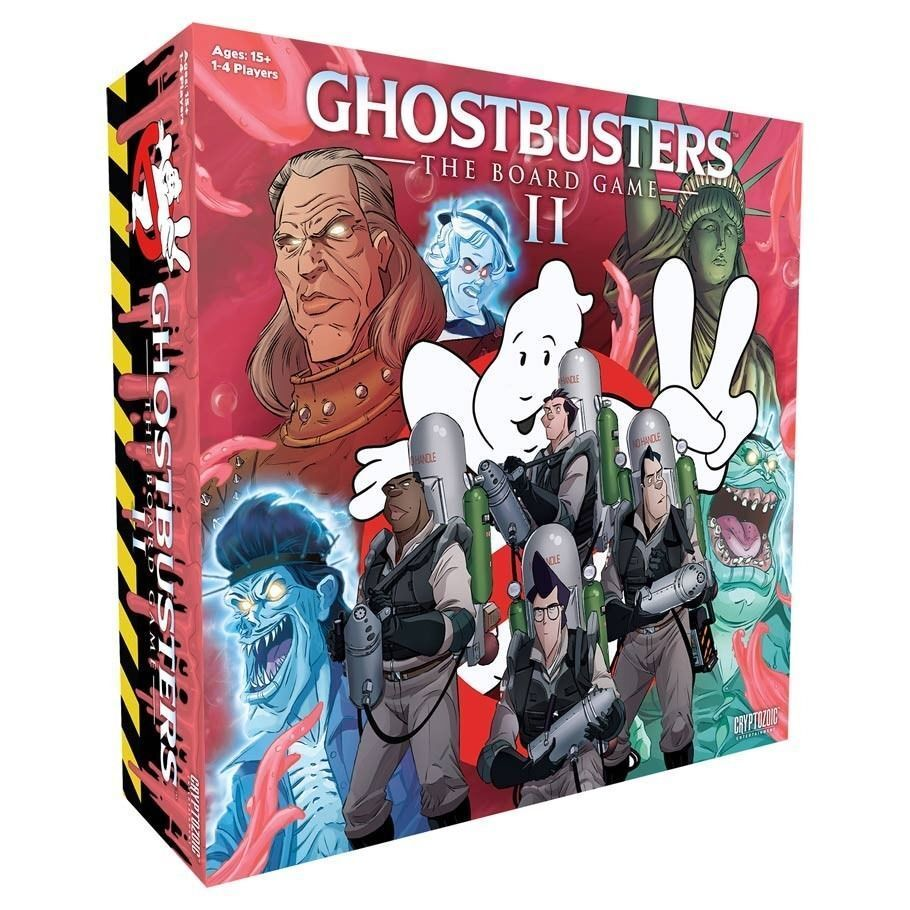 Ghostbusters The Board Game II Expansion Strategy Cryptozoic Entertainment