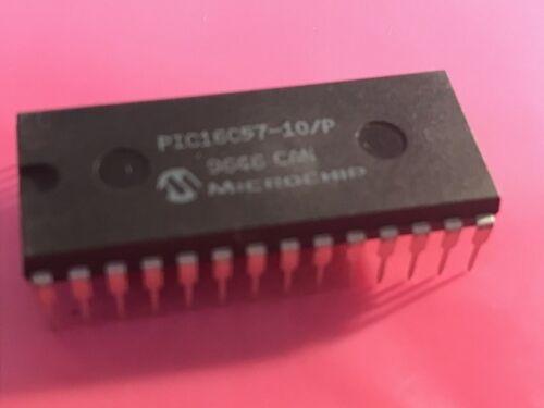 PIC16C57-10//P circuit intégré puce x 1 pièces