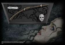 Harry Potter Bellatrix LeStrange Wand with wall display & Mini Deatheater mask