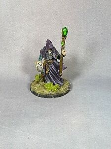 Custom-Painted-Reaper-Miniatures-Satheras-Elf-Warlock