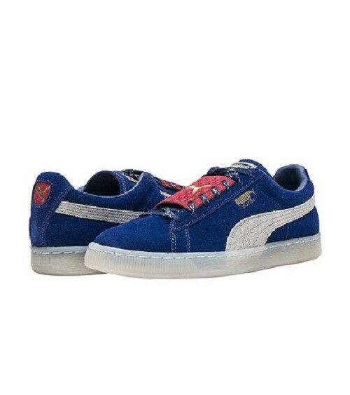 PUMA SUEDE EPIC REMIX LOW SNEAKERS MEN SHOES blueE GREY 65494-04 SIZE 12 NEW