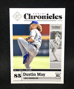 2020-Chronicles-DUSTIN-MAY-RC-Los-Angeles-Dodgers-ROOKIE-36