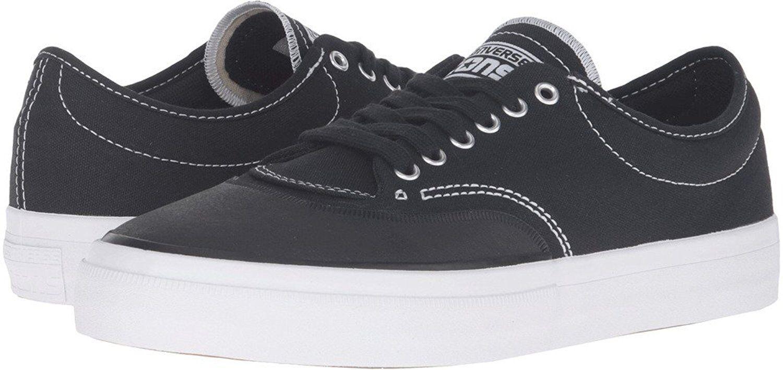 Men's Converse Crimson Canvas Oxford Sneaker, 153465C Sizes 8-12 Black White Nat
