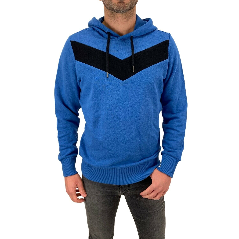 Diesel Sweatshirt S-MANGALA-A 0KADF 88H Blue Hoodie Cotton RRP110