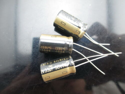 JAPAN 50PCS Elna Rfs silmic II 33uf 50V 33mfd audio Capacitor New diy HiFi