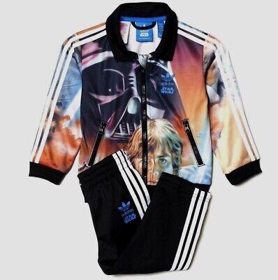 NEU Adidas Originals Star Wars Kinder Baby Trainingsanzug Sportanzug 80-104