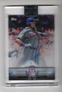 2018-Topps-Clearly-Authentic-Autograph-Card-CASA-IH-Ian-Happ-Chicago-Cubs