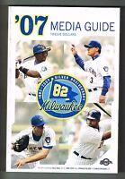 2007 Milwaukee Brewers Baseball MLB Media GUIDE
