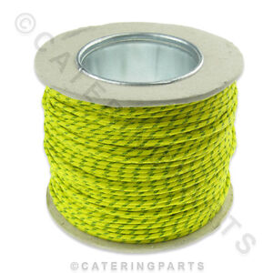 100m-GREEN-YELLOW-EARTH-HEAT-RESISTANT-WIRE-CABLE-HIGH-TEMPERATURE-OVEN-COOKER