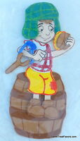 Chavo Del Ocho Party Supplies Decoration Figure Foamy Cake Toppers Kids Cupcake