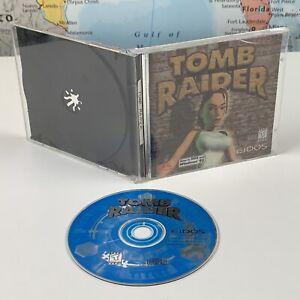 SHIPS SAME DAY Original Tomb Raider 1 - PC CD-ROM Game Eidos, DOS/Windows 95