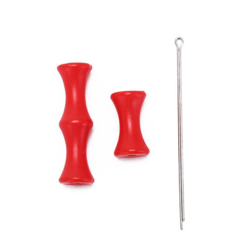 1-Set-Archery-Finger-Guard-Tab-Glove-Silicon-Arrow-Bow-String-Protector-Ge RAS