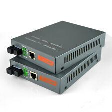 1000M Gigabit fiber optic media converter Singlemode Single Fiber Built-in/1pair