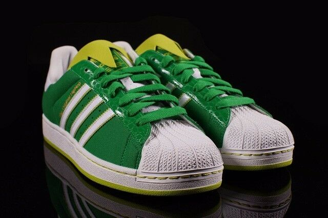 Adidas Superstar II Kermit the Frog Edition SHOES, Men's size 8.5, NEW IN BOX