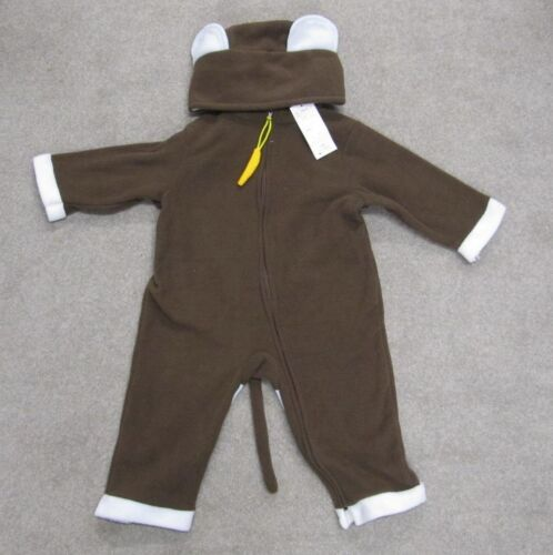 Baby Toddler Animal Costume Bear Fleece Fancy Dress outfit sleep suit boys girls
