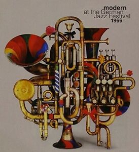 Various-Artists-Modern-at-the-German-Jazz-Festival-1966-New-CD