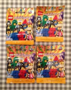 Lego minifigures series 14 unopened sealed random mystery blind bags packs
