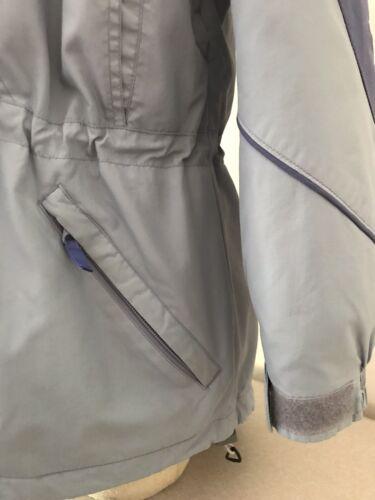 Sportswear Light Co Størrelse Small Hooded Lined Kvinder Puffy Jacket Blue Columbia 7SqwdnqO
