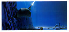 STAR WARS MCQUARRIE EMPIRE - 50 X 15 CM - ILLUSTRATION N°08 PORTFOLIO - VINTAGE