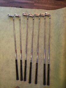 titleist ap2 iron set 714 4-PW Stiff KBS