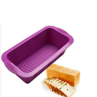 Silicone bread loaf mold cake non stick bakeware baking pan oven mould - 3pcs Non Stick Cake Baking Pan Ider Tray Checkerboard