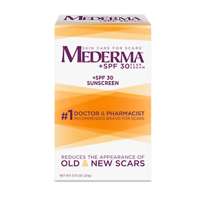 Lot Of 2 Mederma Scar Cream Plus Spf 30 Sunscreen For Scars 0 7