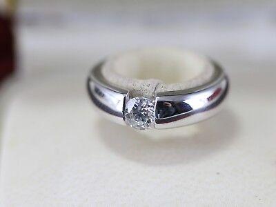 WEMPE Solitaire Ring aus 750 Weißgold | ein Brillant 0,33ct. (G SI) | Zertifikat | eBay