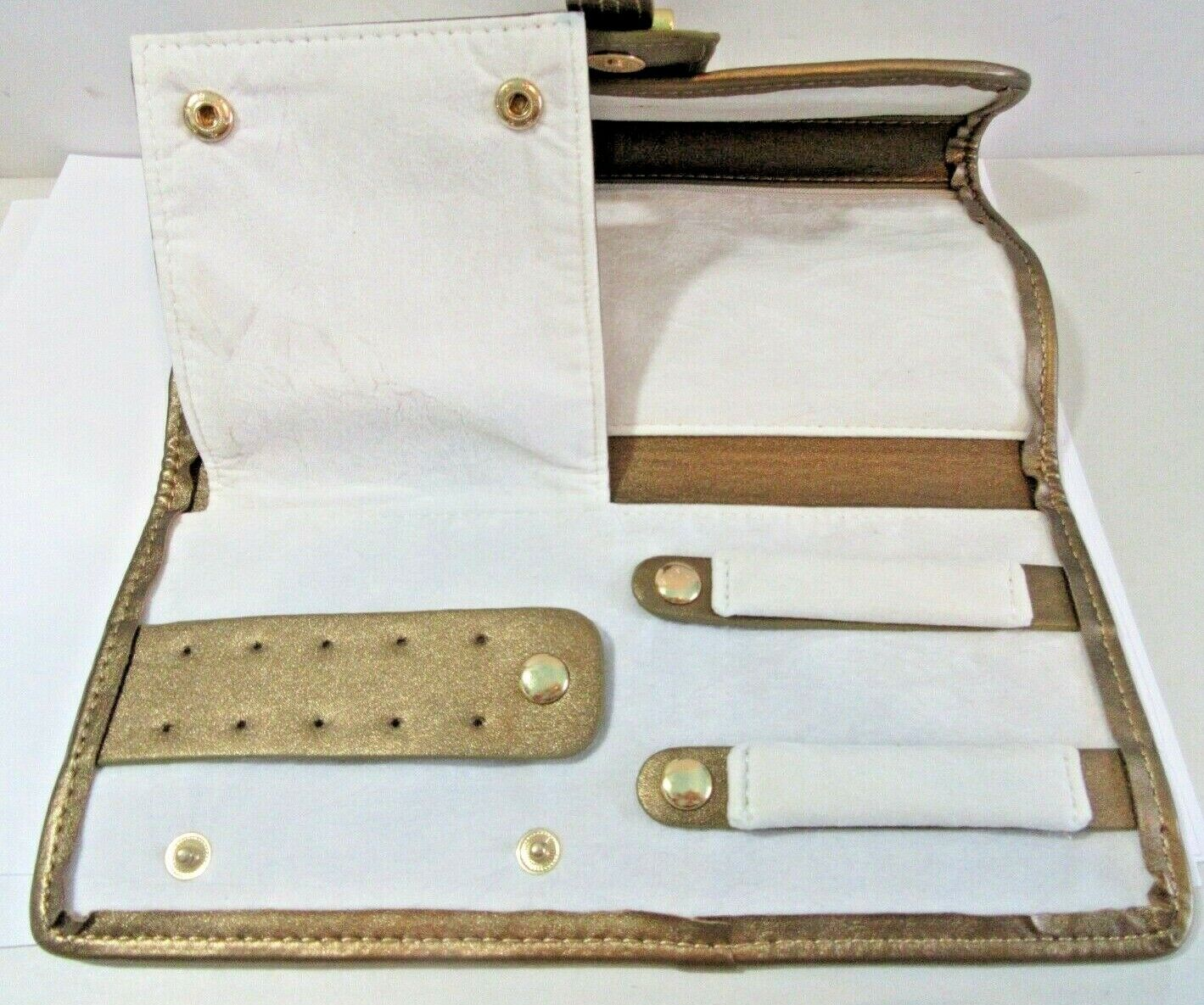 TUSCAN DESIGNS CLUTCH CARRY ALL PURSE BAG WHITE A… - image 5