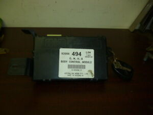HOLDEN-COMMODORE-VS-494-LOW-BCM-BODY-CONTROL-MODULE-WITH-KEY-FOB