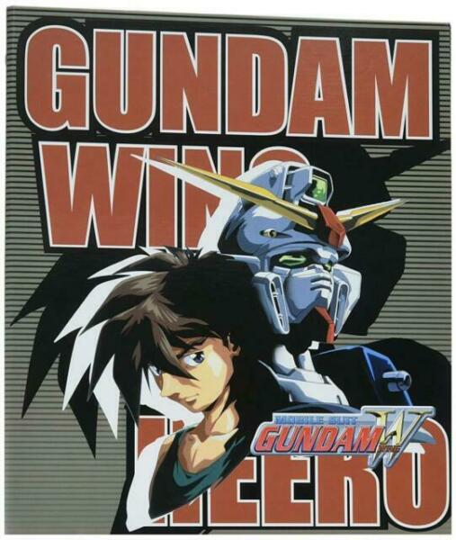 Ge Animation Gundam Hero And Wing Binder Cool Anime Item