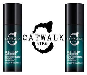 Dettagli Su Tigi Catwalk Curls Rock Amplifier 150 Ml X2 Pezzi Capelli Ricci