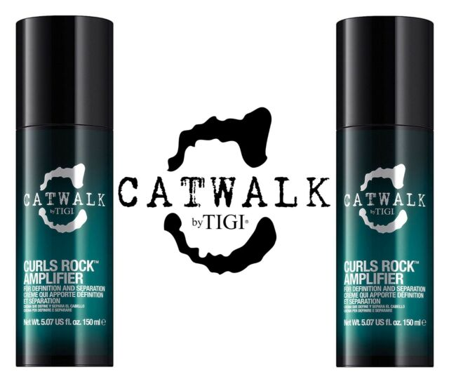 TIGI Catwalk Curls Rock Amplifier 150 ml x 2 pezzi | Capelli Ricci