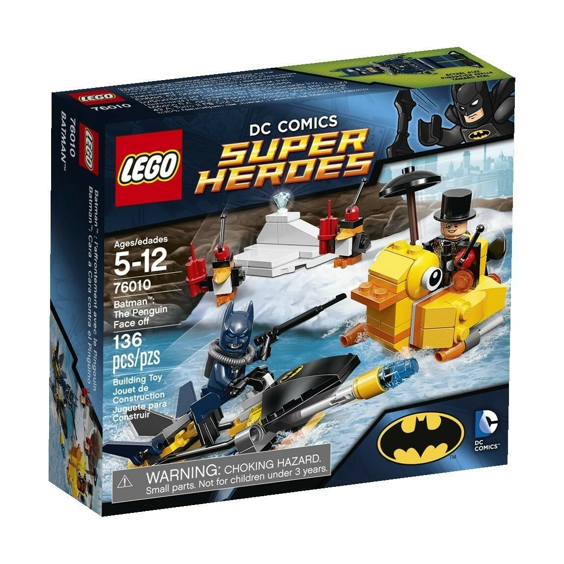 LEGO DC Universe Super Heroes Batman  The Penguin Face Off Set