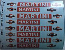 Straßenbahn Martini Decals 1:87 oder H0 (201812101H0)