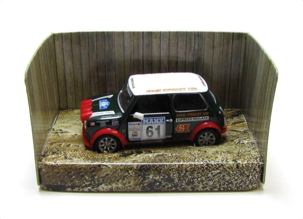 CORGI Championship Mini Cooper Eddi Stobart Ltd Garage échelle 1 36 - Neuf dans sa boîte