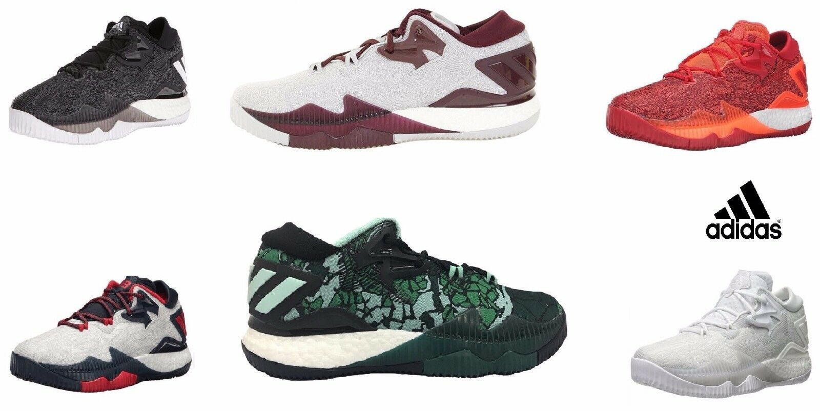 Adidas Men Vets Athletic SM CL Crazylight Boost Low 2016 Vets Men Day Basketball Shoes 4eef01