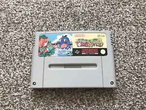 Super Mario World 2 YOSHI'S ISLAND SUPER NINTENDO SNES JUEGO Reino Unido EUR PAL * Carro *