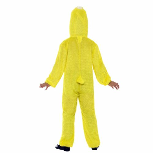 Kids Boys Girls Yellow Easter Spring Chick Duck Jumpsuit Fancy Dress Costume